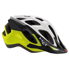 MET Funandgo Bike Helmet yellow/white